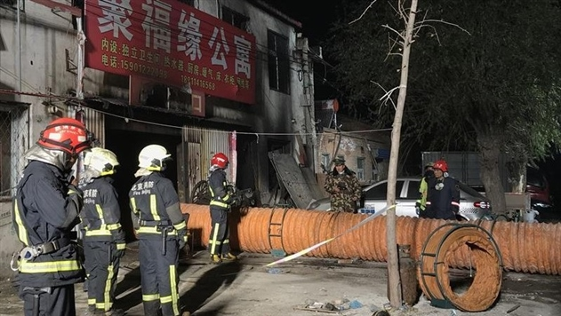 Жертвами пожара в Пекине стали 19 человек