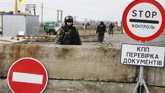 Число пересекающих админграницу с Крымом снизилось