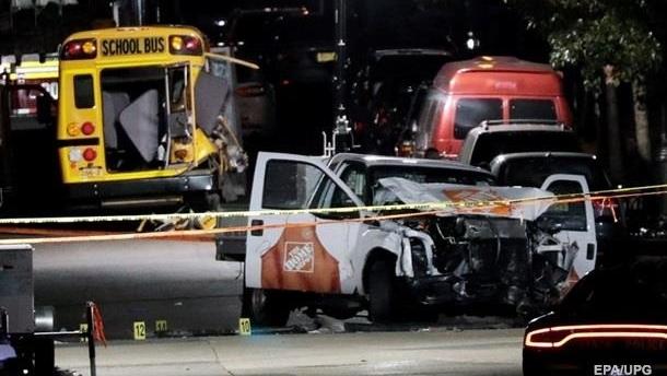 «Исламское государство» взяло на себя ответственность за теракт в Нью-Йорке