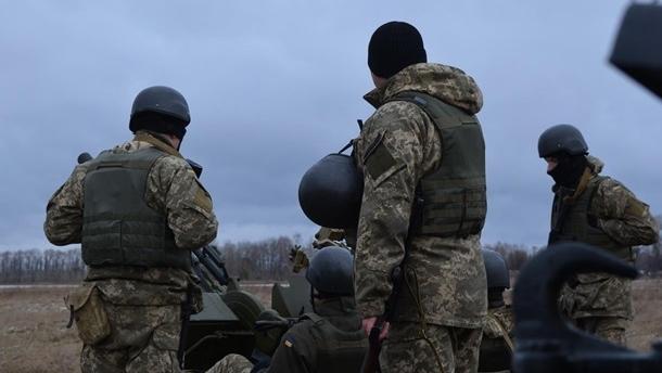 В Донецкой области подорвался боец Нацгвардии