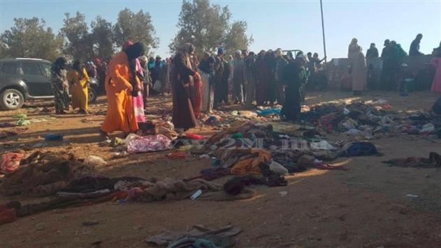 В Марокко в давке за едой погибли 15 человек