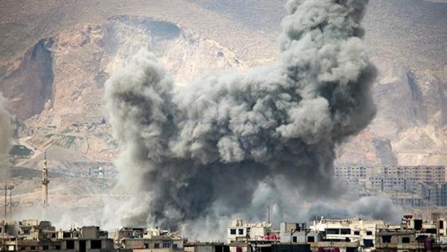 В Сирии в результате авиаударов погибли не менее 57 человек