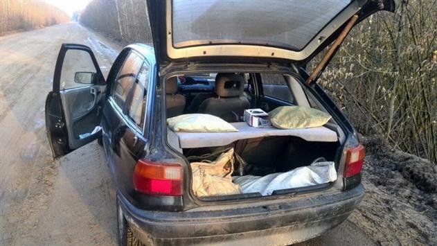 У жителя Солигорского района конфисковали автомобиль за незаконную рыбалку
