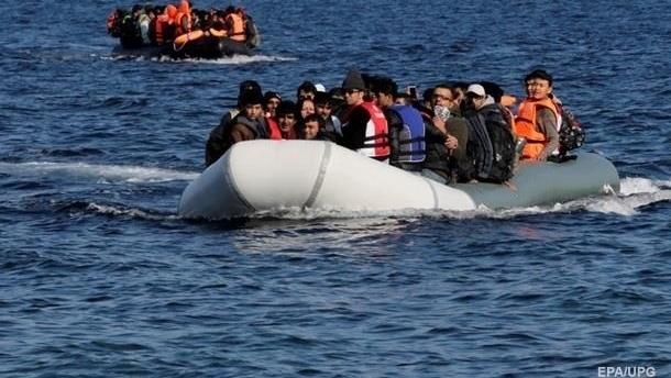 За год морем в Европу добрались более 150 тысяч мигрантов