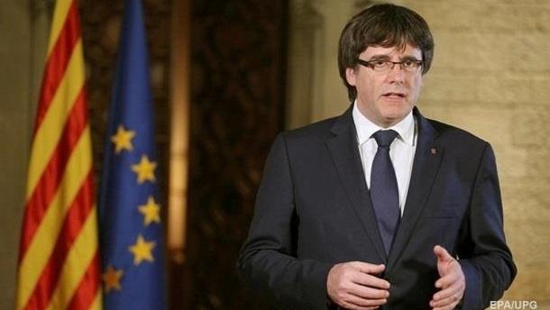 Пучдемон назвал себя «легитимным» главой Каталонии
