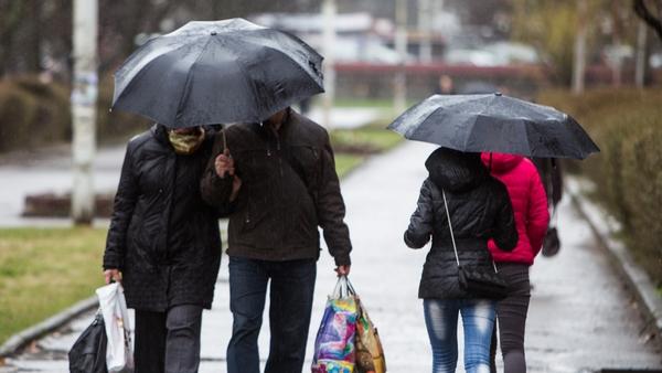 В понедельник в Беларуси ожидаются осадки