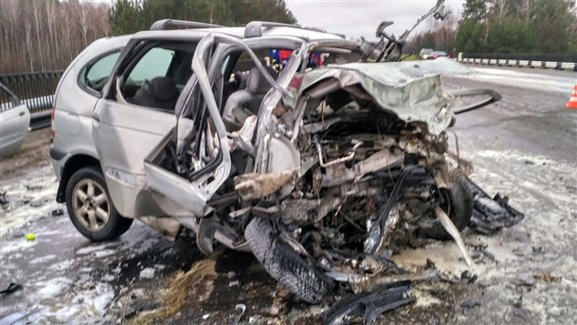 В лобовом столкновении в Мозырском районе погибли два водителя