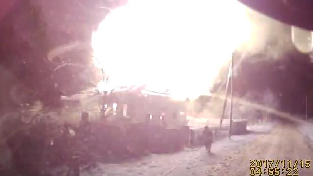 В Жлобинском районе при пожаре жилого дома погиб человек