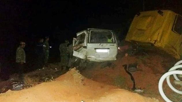 В Киргизии в ДТП с участием газовоза погибли 10 человек