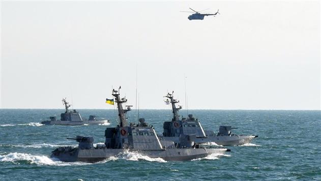 В Черном море прошли учения Военно-морских сил