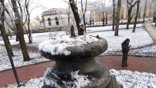 В Чернигове украли бюст Александра Пушкина