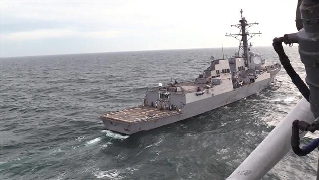 В РФ назвали провокацией тренировку украинской авиации с эсминцем США