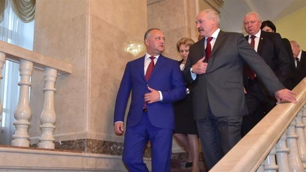 Президент Молдовы Додон пригласил Лукашенко прокатиться на тракторе