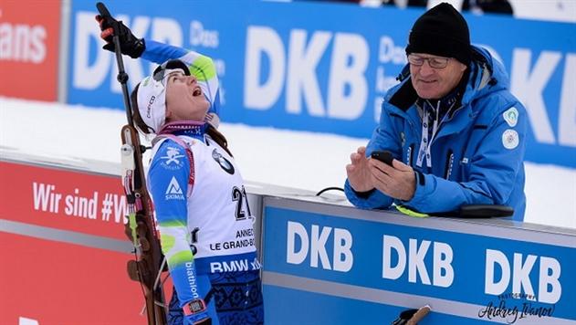 Ирина Кривко впервые в карьере завоевала серебро на этапе Кубка мира