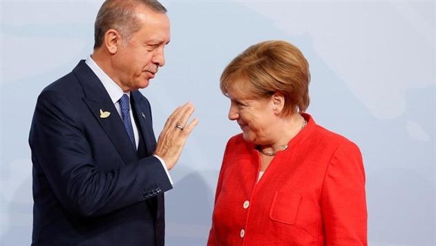 Меркель и Эрдоган впервые за долгое время провели переговоры