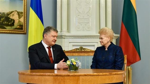 Порошенко в Литве рассказал о ситуации с Саакашвили