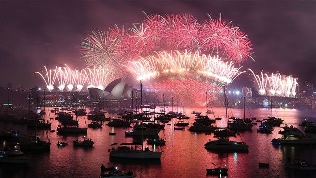 Мир начал встречать Новый год
