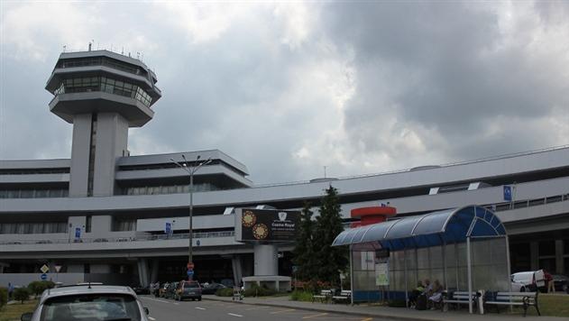 В Национальном аэропорту