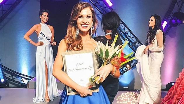Белоруска стала второй вице-миссис на конкурсе «Миссис мира 2017»