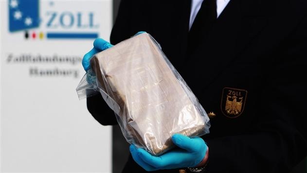 В Германии конфисковали рекордные семь тонн кокаина в этом году