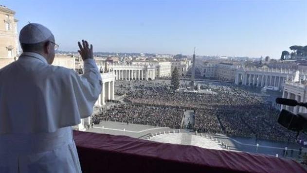 Папа Римский помолился за мир для Украины