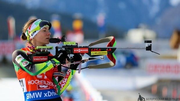 Скардино пришла шестой в гонке преследования на КМ в Швеции