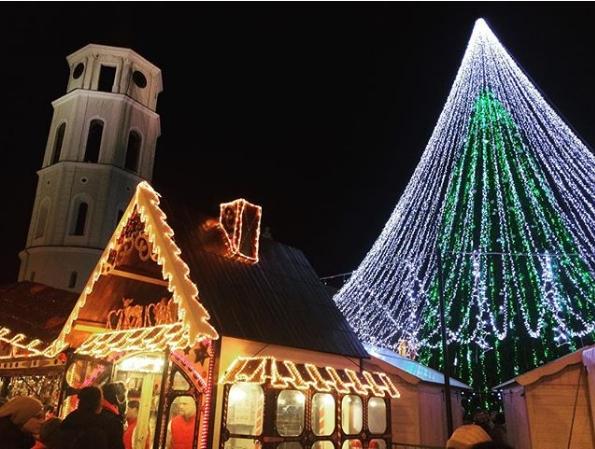 Рождество и Новый год 2018 в Вильнюсе
