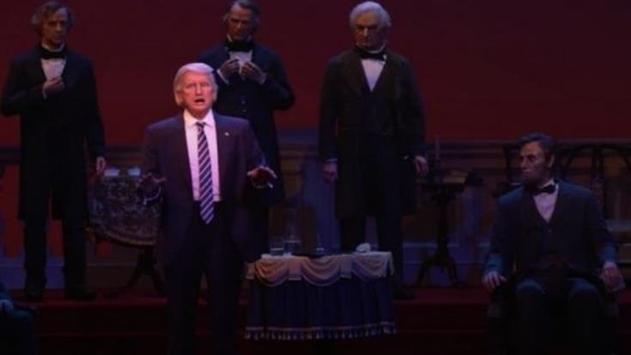 В президентском зале Disney появился робот Трампа