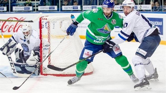 Минское «Динамо» начало выездную серию с проигрыша «Салавату Юлаеву»