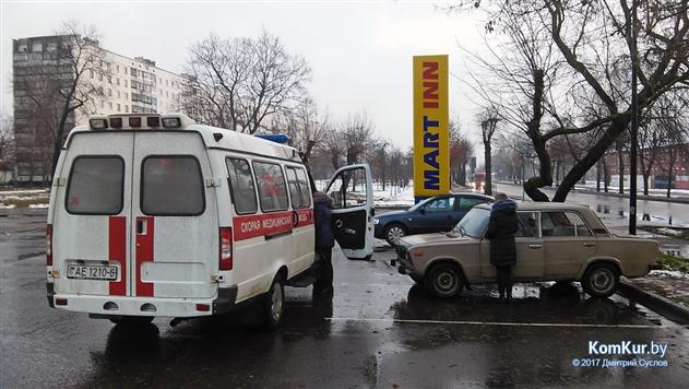 В Бобруйске водитель