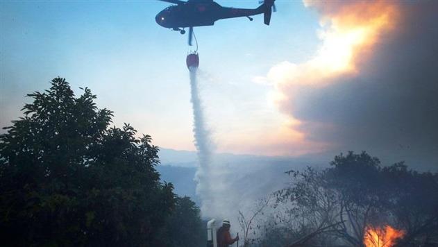 В Калифорнии из-за пожаров эвакуировали более 200 тысяч человек