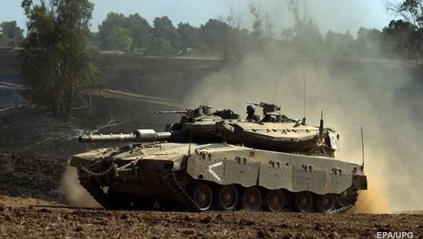 Израиль нанес ответный удар по позициям ХАМАС