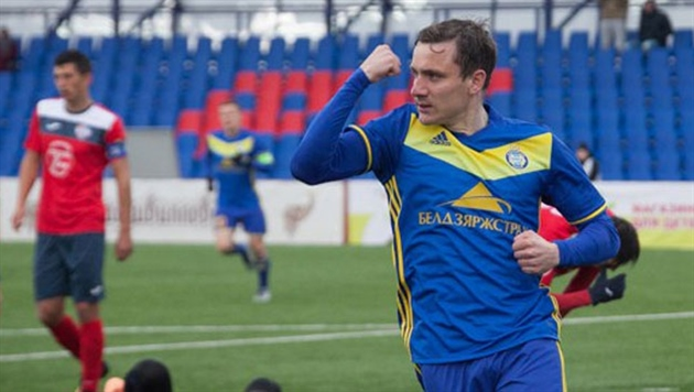 Гордейчук признан лучшим футболистом Беларуси