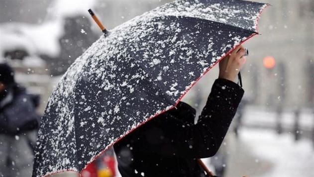 Погода в выходные: пройдет мокрый снег, днем будет не выше +4°С