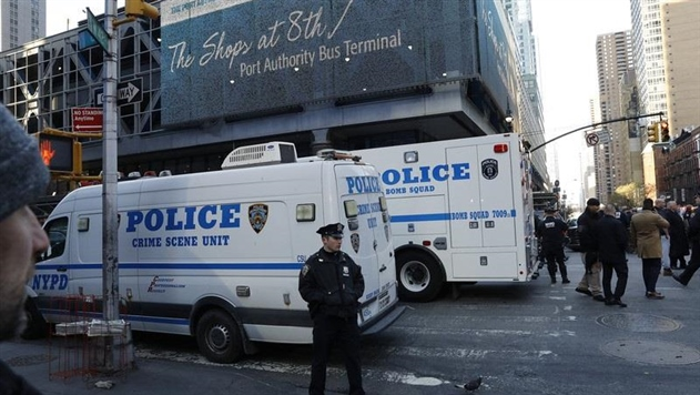 Теракт в Нью-Йорке: бомбу изготовили из елочной гирлянды