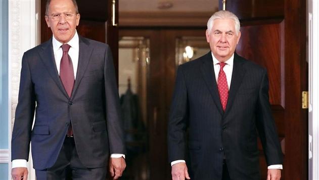 Лавров и Тиллерсон обсудили Украину