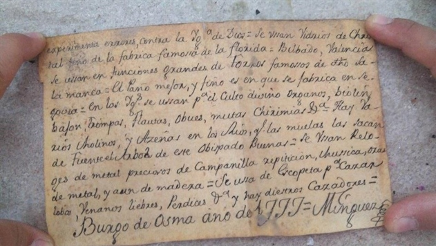 В статуе Иисуса Христа в Испании нашли тайное послание