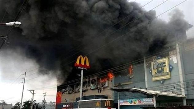Жертвами пожара в ТРЦ на Филиппинах стали 37 человек