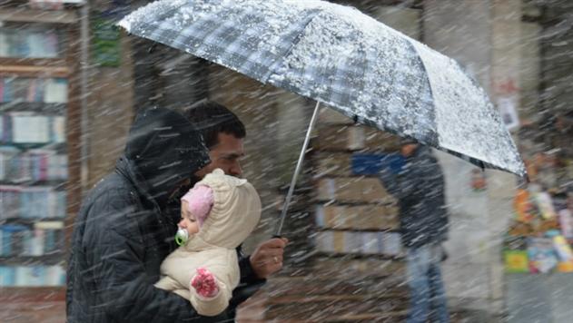 Синоптики: в новогоднюю ночь в Беларуси дождь с мокрым снегом
