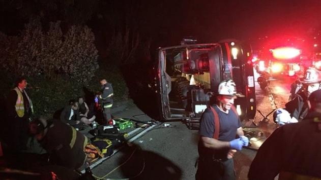 В США в ДТП пострадали почти 30 человек