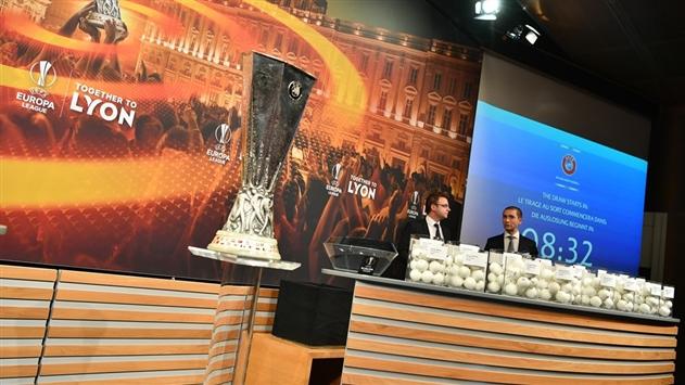 Определились пары соперников в плей-офф Лиги Европы