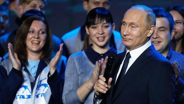 Владимир Путин объявил об участии в президентских выборах в 2018 году