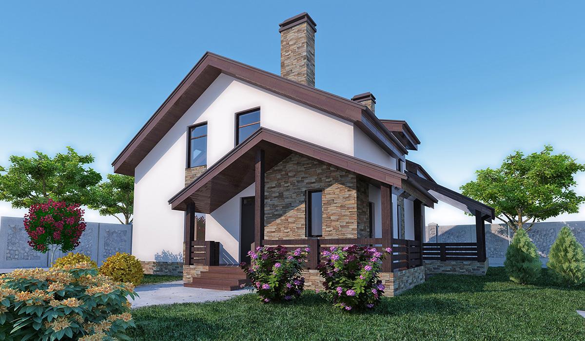 Индивидуальные проекты загородных домов