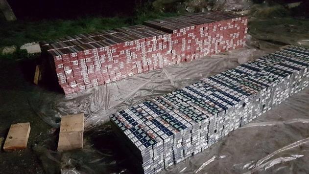На Закарпатье задержали крупную партию контрабандных сигарет