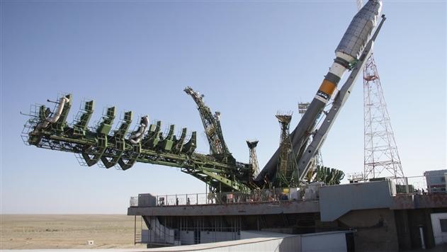 Россия запустила ракету Союз с военным спутником
