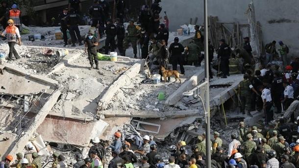 За три месяца Мексике зафиксировали около 13 тысяч землетрясений