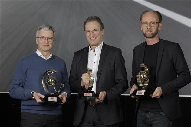 Три победы Audi в конкурсе «Auto Trophy 2017»