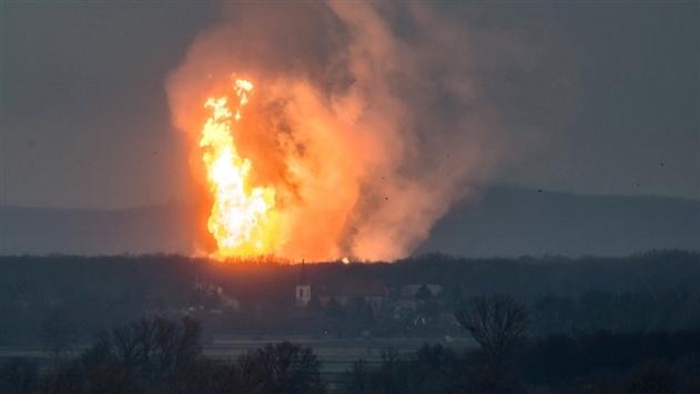 Взрыв газовой станции в Австрии оставил европейцев без российского газа