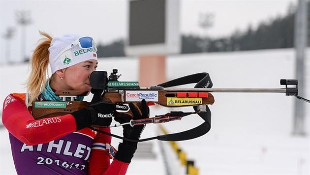 Алимбекова заменит Домрачеву в сборной Беларуси на третьем этапе КМ во Франции