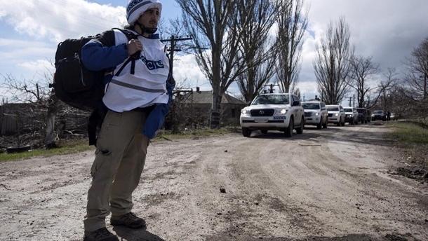 ОБСЕ фиксирует меньше взрывов на Донбассе